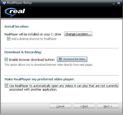 Instalação do Real Player 11